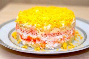 Cucina russa mimosa insalata russa di pesce ciao for Cucina russa