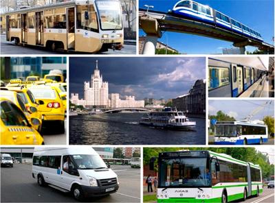 I mezzi di trasporto da usare in Russia