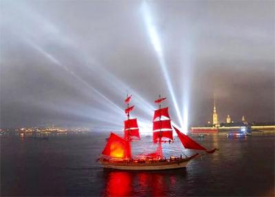 """Le  """"Notti Bianche"""" di San Pietroburgo tra i 20 migliori eventi culturali del 2018"""