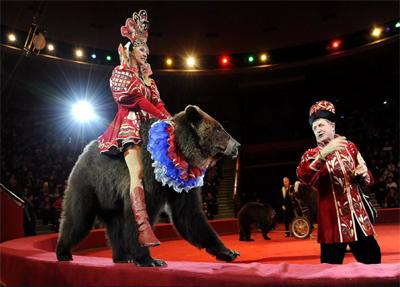 Il Circo russo di Mosca: uno spettacolo da non perdere.