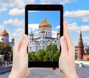 Mosca è una delle tre città più fotografate al mondo.