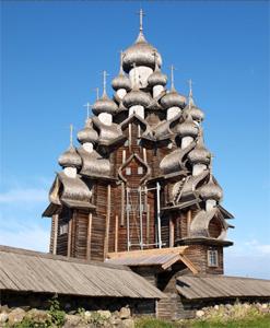 Carelia – La Chiesa dellaTrasfigurazione del Signore a Kizhi