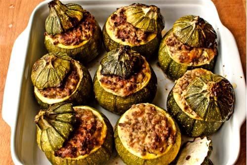 Итальянская кухня: Фаршированные цуккини