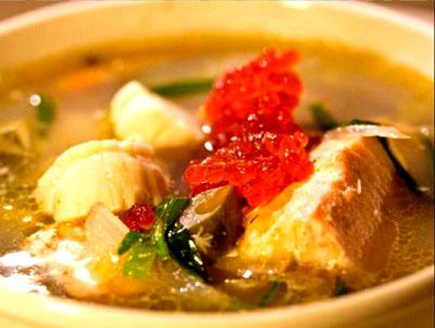 Ricetta russa – Antica zuppa di pesce