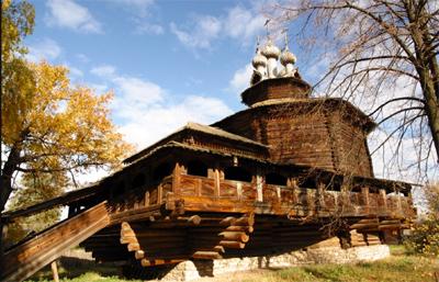 Kostroma – Il Museo dell'architettura antica in legno