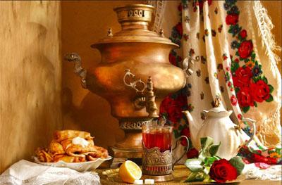 Il rito del tè in Russia