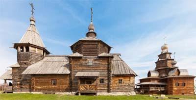 Il Museo dell'Architettura in legno di Suzdal
