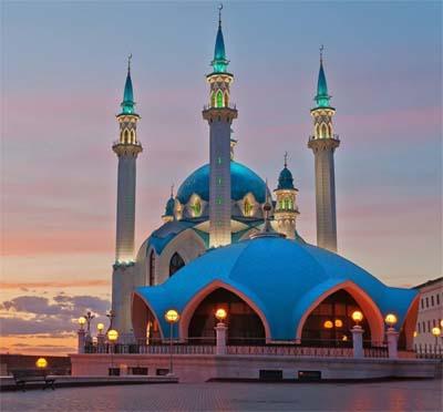 La Moschea Kul Sharif nel Cremlino di Kazan