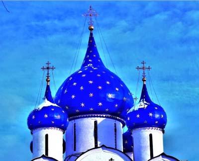 La Cattedrale della Natività di Suzdal nella Regione di Vladimir