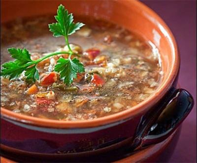 Ricetta russa – Zuppa di funghi con grano saraceno