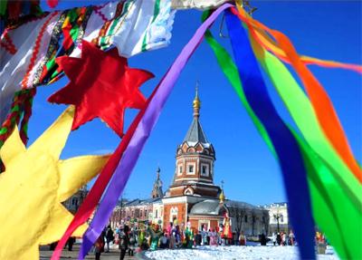 La  Maslenitsa (Carnevale) a Yaroslavl
