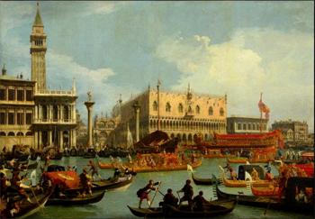 """La mostra """"Da Tiepolo a Canaletto a Guardi"""" a Mosca"""