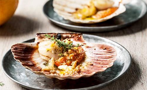 Итальянская кухня: Морские гребешки в панировке