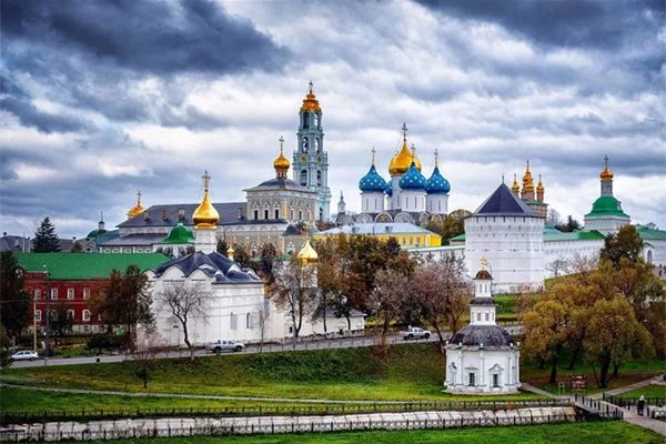Il Monastero della Trinità e San Sergio a Sergiev Posad,
