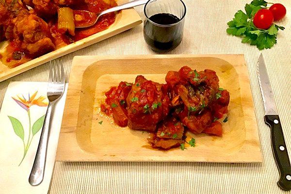 Итальянская кухня: Тушеные говяжьи хвосты