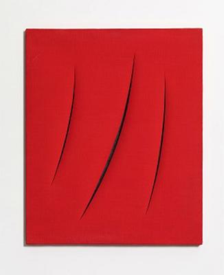 Выставка итальянского художника Лучо Фонтаны в Москве