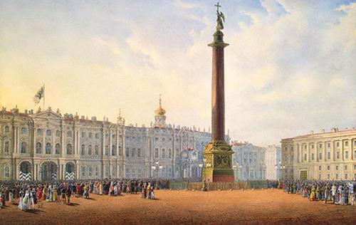 San Pietroburgo: Piazza del Palazzo d'inverno