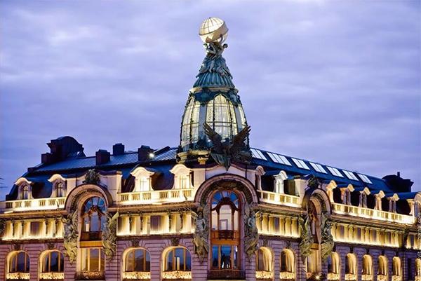 Prosp Nevsky-La casa Singer - Ciao Italia Russia