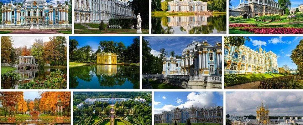 I Palazzi e le Regge nella periferia di San-Pietroburgo