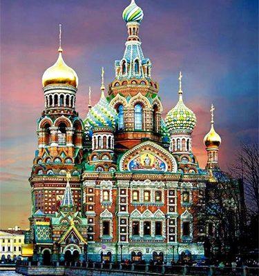 San Pietroburgo: Cattedrale della Resurrezione di Cristo