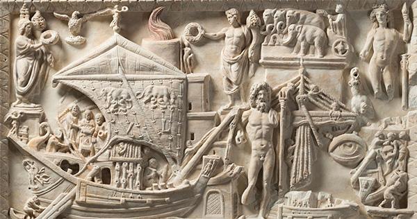 Выставка в Риме «Мрамор Торлонии» 2020-21