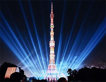 Mosca: la torre televisiva di Ostankino