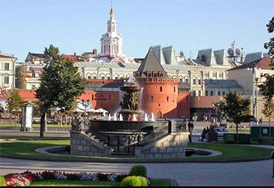 Mosca-Kitaj-Gorod: ilcentro della Russia